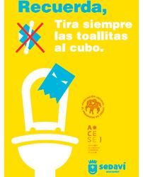 Campaña contra las toallitas Húmedas